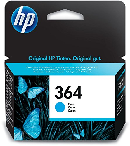 HP 364 Blau Original Druckerpatrone für HP Deskjet, HP Officejet, HP Photosmart -