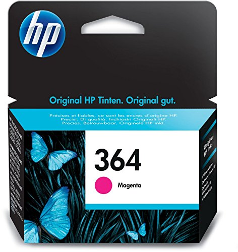 HP 364 Rot Original Druckerpatrone für HP Deskjet, HP Officejet, HP Photosmart -